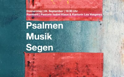 Psalmen, Musik und Segen